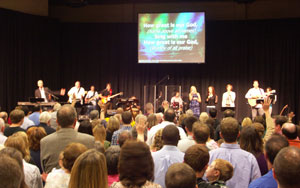 Derwood Bible Church first service